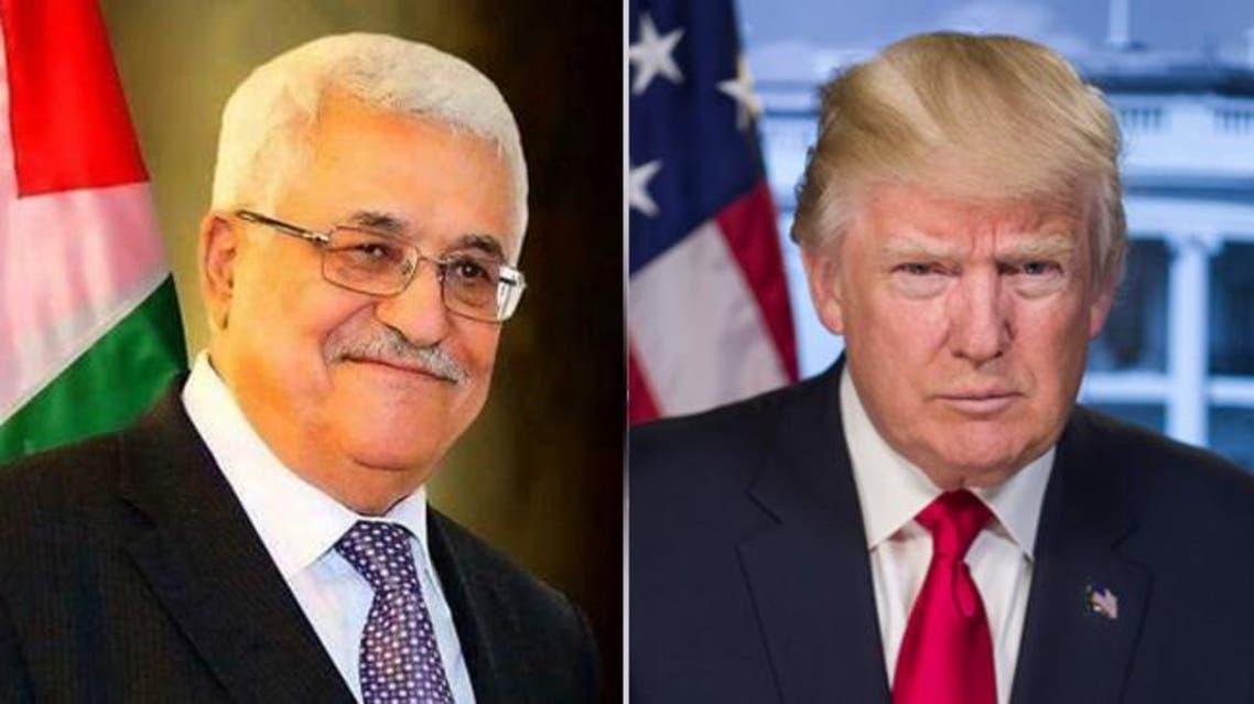 ترمب و عباس