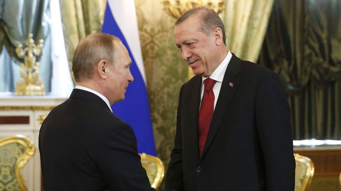 بوتين أردوغان