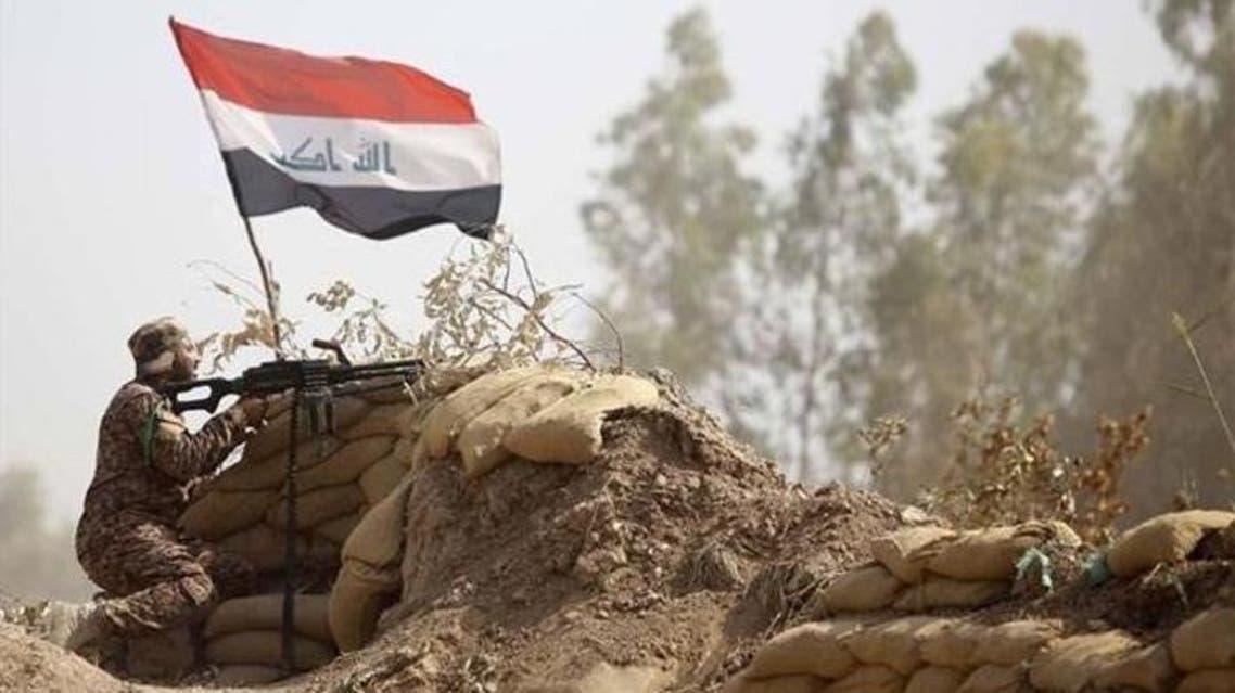 صورة مقاتل عراقي في الأنبار