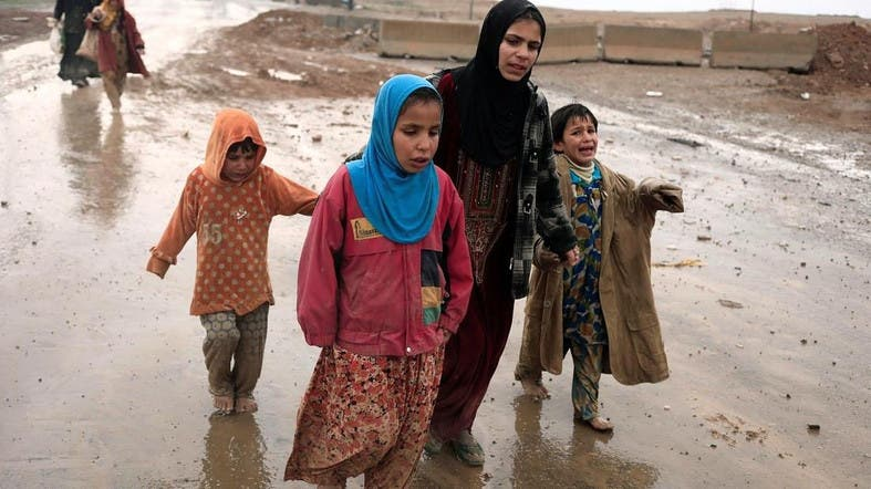 نازحي الموصل