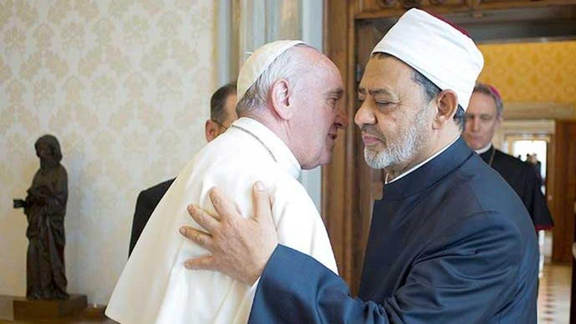 شيخ الأزهر وبابا الفاتيكان