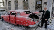 Aleppo car lover aims to revive his 'wounded' classics