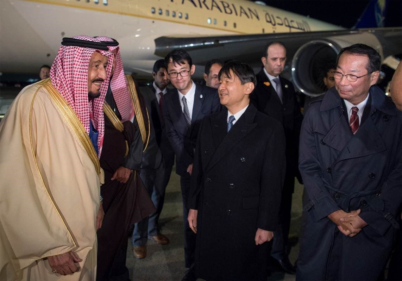 الملك سلمان اليابان جولته الآسيوية
