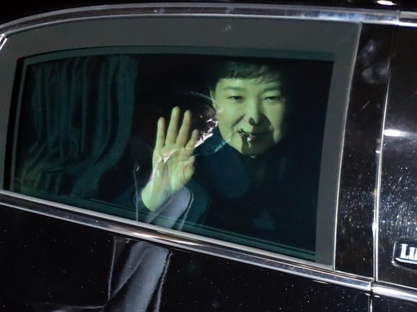 """رئيسة كوريا الجنوبية """"المخلوعة"""" تغادر مجمع الرئاسة"""