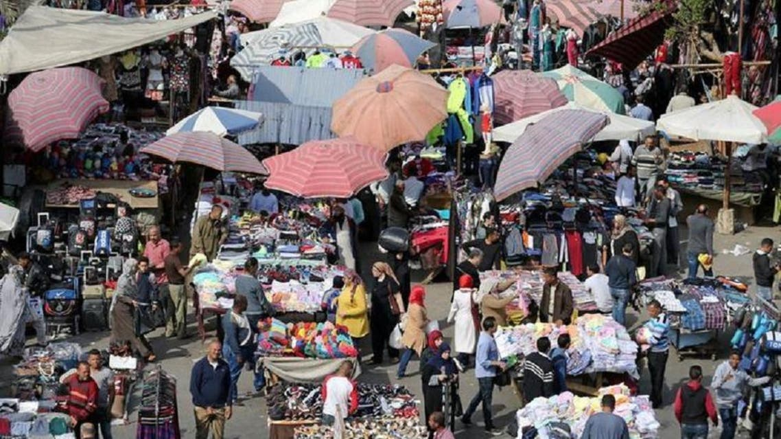 People shop at Al Ataba, a popular market in downtown Cairo, on March 9, 2017. (Reuters)