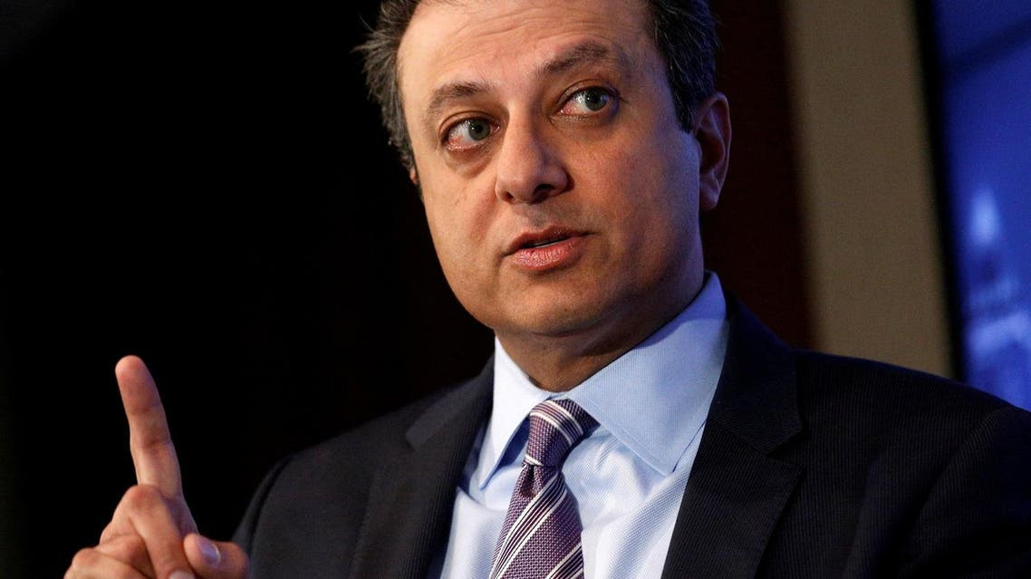 US Attorney for the Southern District of New York Preet Bharara speaks during an event in New York City, on July 13, 2016. (Reuters)