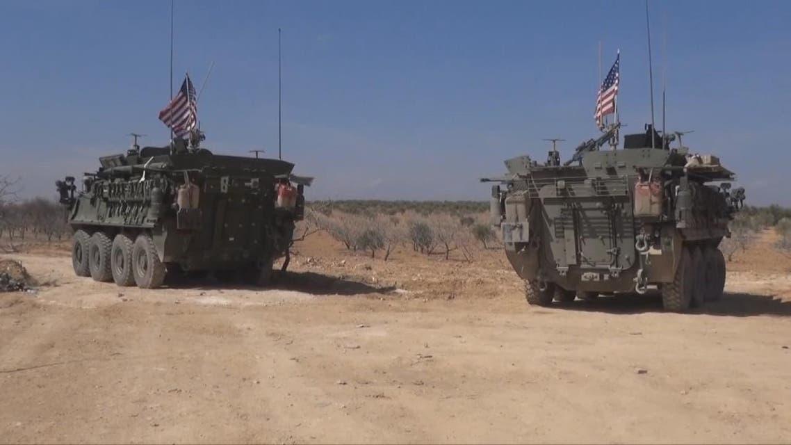 THUMBNAIL_ دخول 43 دبابة ومدرعة أميركية الى مشارف منبج