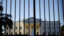 Trump hails secret service's 'fantastic job' over intruder arrest