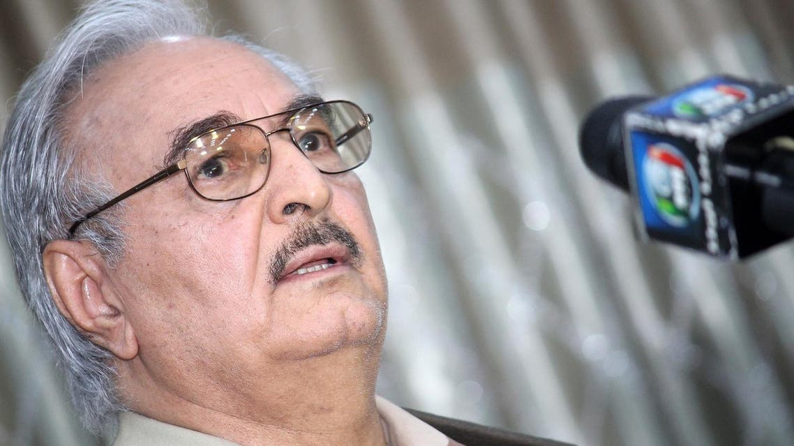 Will Haftar's recent losses mark the beginning of his fall in post-Qaddafi Libya or just more ebb and flow in the highly fluid civil war? (File photo: AFP)