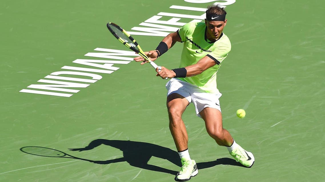 Spaniard Rafa Nadal marched towards a possible showdown with Roger Federer. (USA Today Sports)