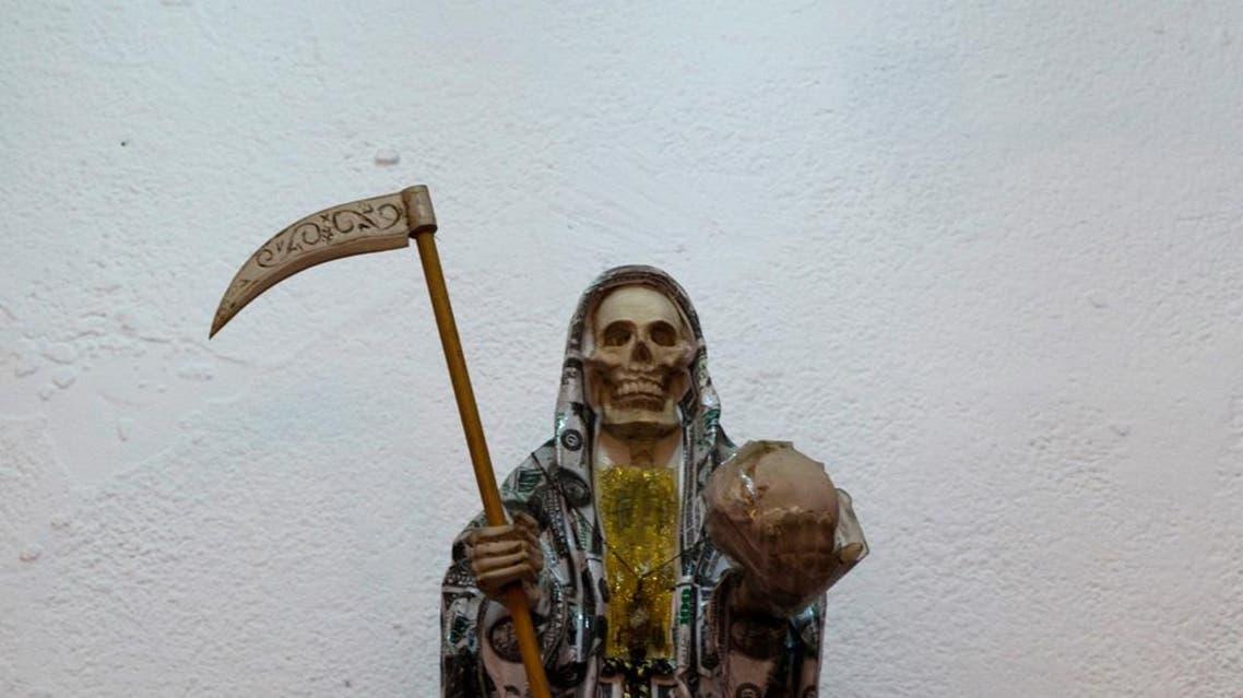 تمثال قديسة الموت