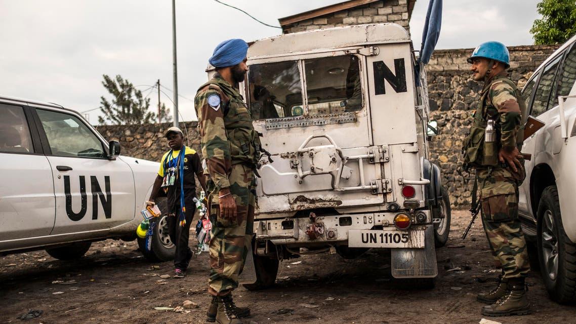 من قوات حفظ السلام الدولية في الكونغو الديمقراطية