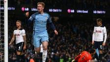 Man City's De Bruyne aiming for Champions League final