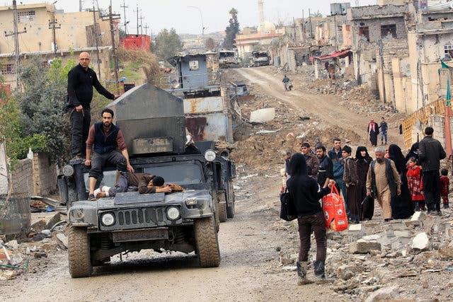 من غرب الموصل