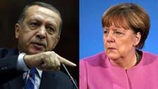 أردوغان يغازل ميركل: تركيا تريدصفحة جديدةمع أوروبا