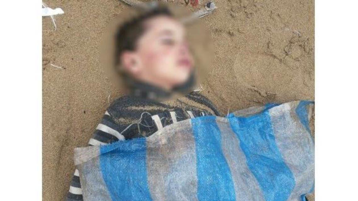 طفل سوري غريق في لبنان