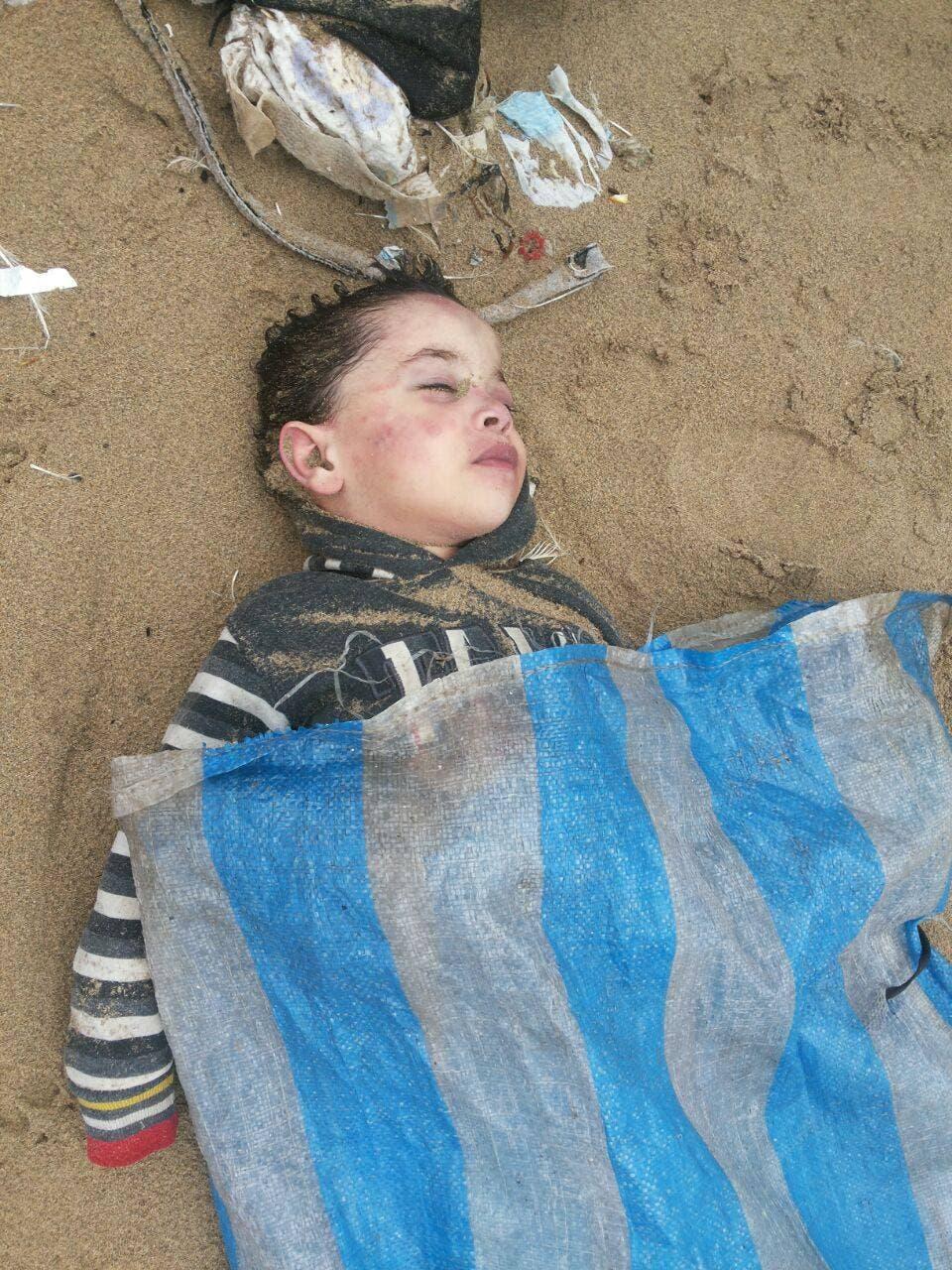 الطفل السوري رسول