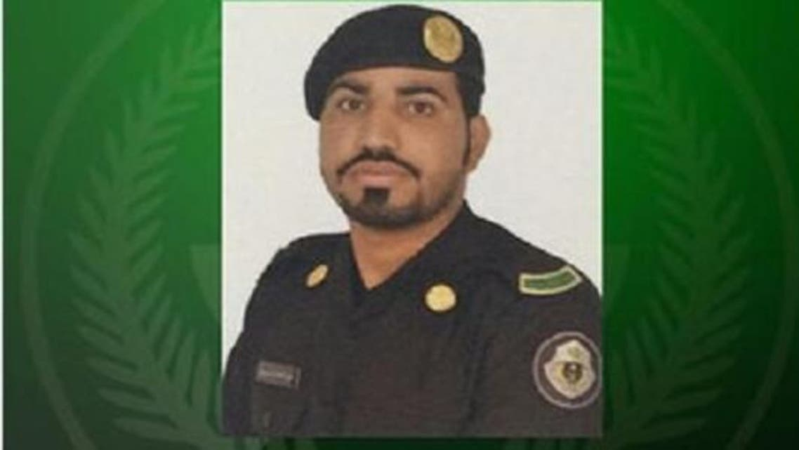 The  policeman who was shot dead by unknown assailants in Qatif on Tuesday evening. (Al Arabiya.Net)