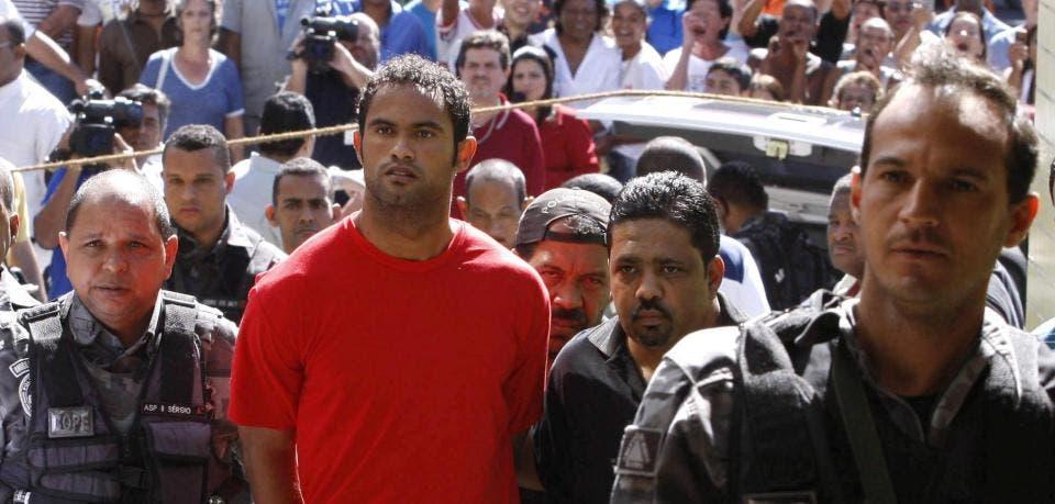 برونو هنگام دستگیری