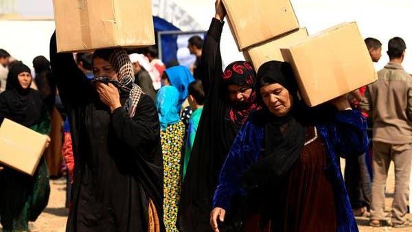 نازحين من الموصل