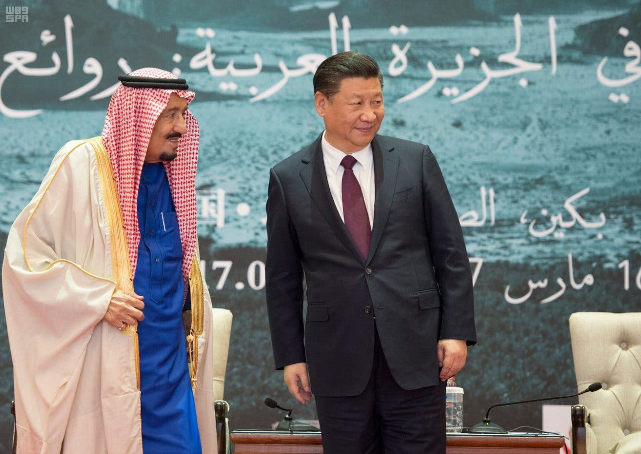 Saudi King Salman and Chinese President attend conclusion ceremony of Roads of Arabia Expo (SPA)