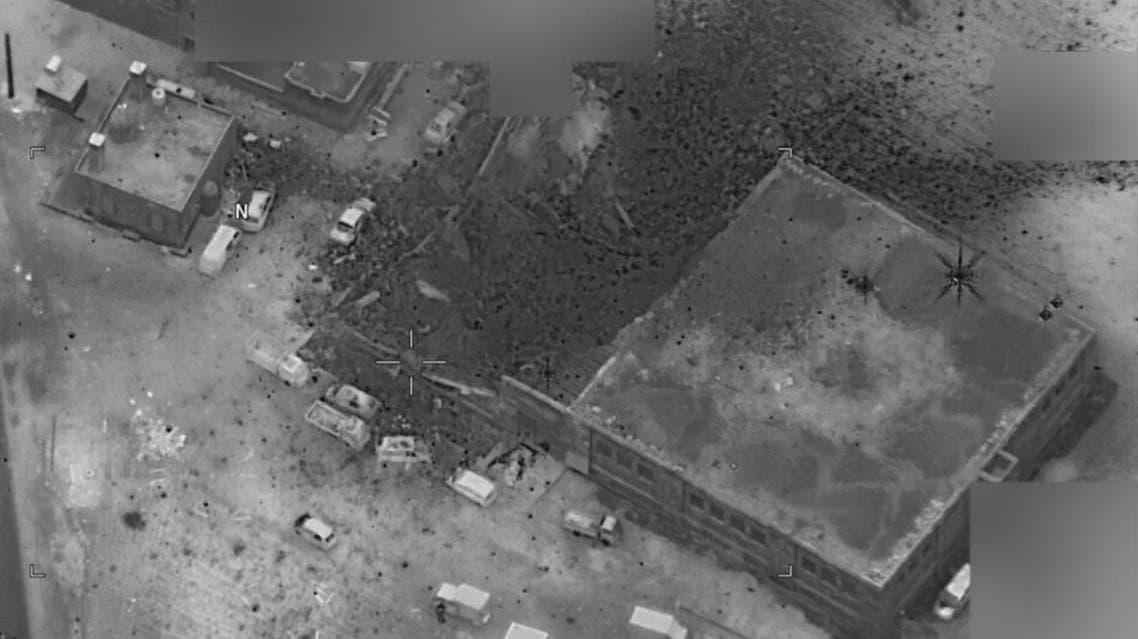 """صورة من البنتاغون تؤكد أن """"الغارة لم تستهدف المسجد"""""""