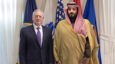 Saudi Deputy Crown Prince meets US Defense Secretary to discuss Iran, ISIS