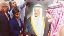 Young Malaysian painter wins Saudi hearts at Riyadh Book Fair