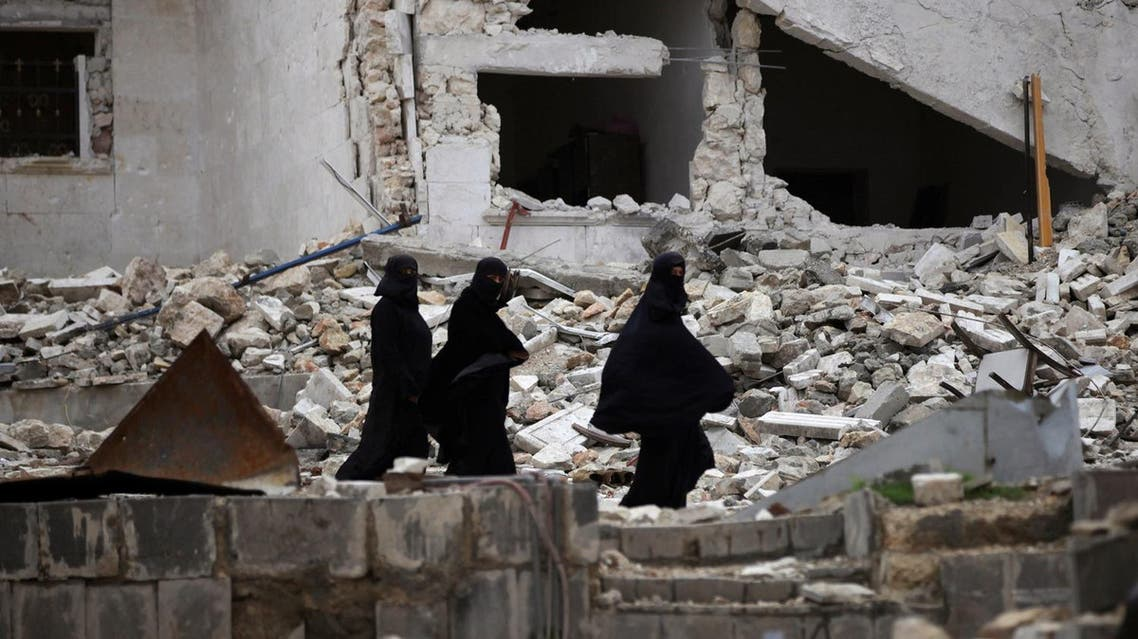Centcom said US forces conducted an airstrike on an Al-Qaeda in Syria meeting location in Idlib on March 16. (Reuters)