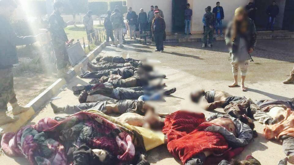 قتلى الإرهابيين في بنغازي