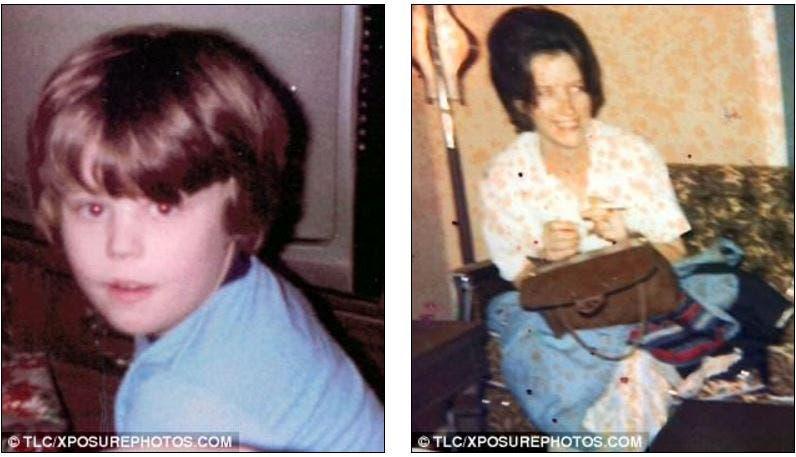 بدأت مأساة جيمس في المراهقة بعد وفاة والدته