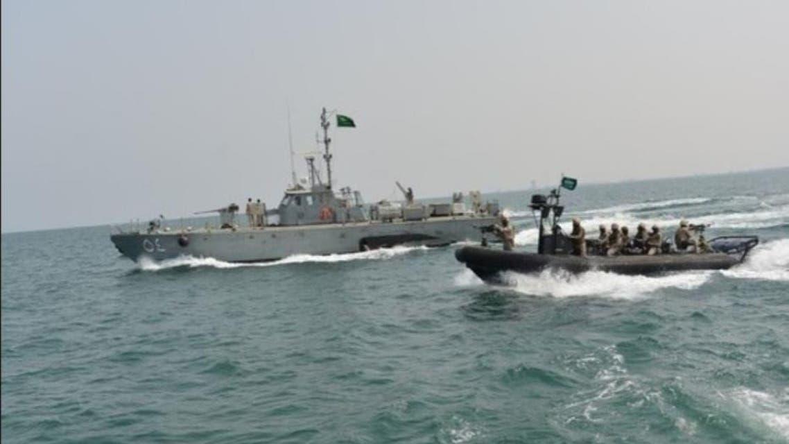 القوات البحرية التابعة للتحالف العربي في اليمن - التحالف اليمن السعودية 3