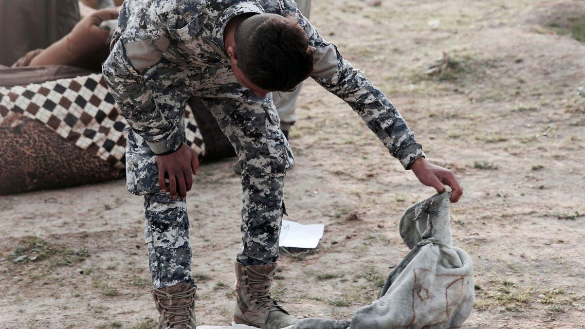 مقبرة جماعية عثروا عليها في الموصل