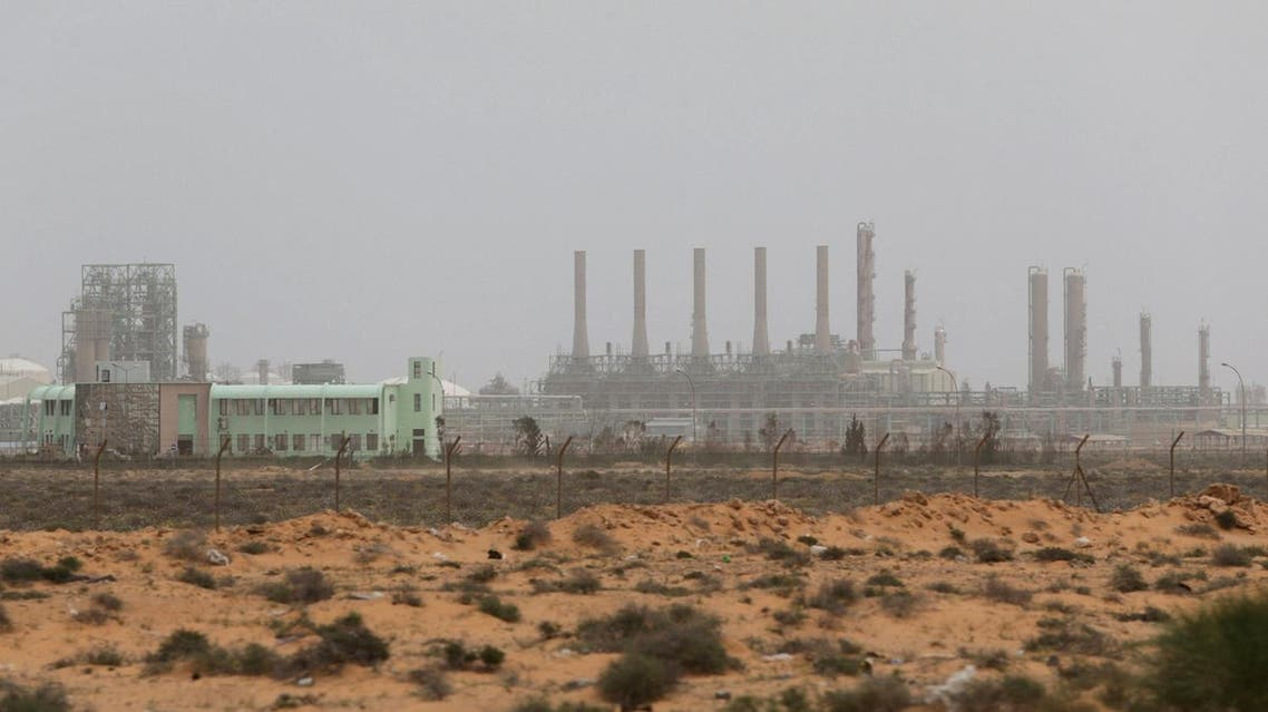 A view shows Ras Lanuf Oil and Gas Company in Ras Lanuf, Libya, on March 16, 2017. (Reuters)