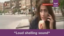 VIDEO: Syria TV reporter gets fact-checked live on air during Damascus battle