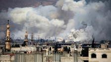 'Intense' strikes pound East Damascus after rebel assault