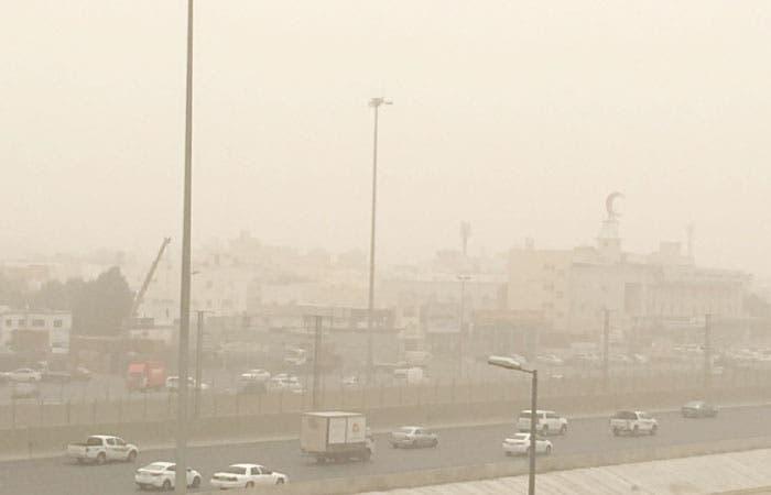 Poor visibility on Haramain Expressway on Sunday — (Saudi Gazette)