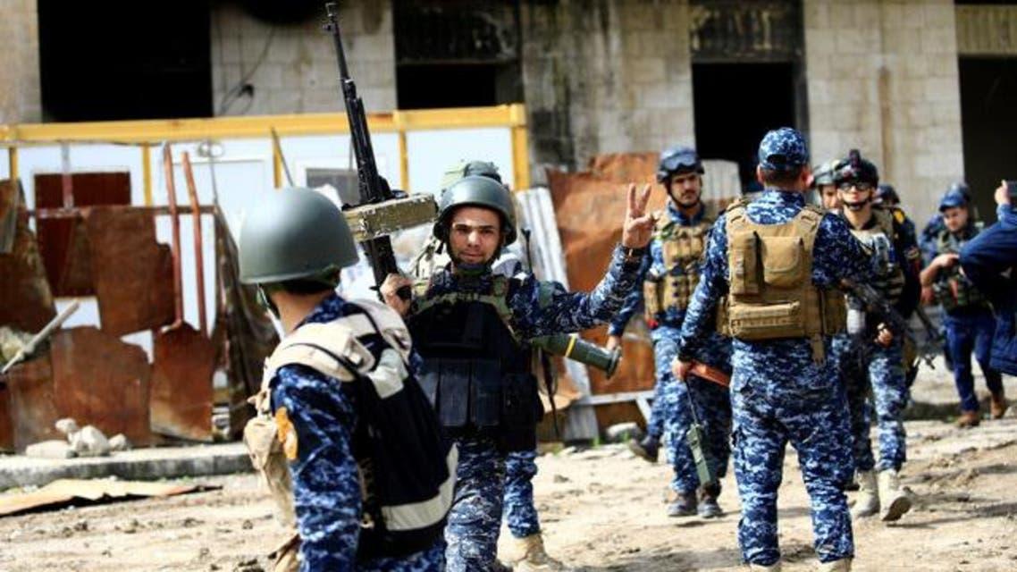 القوات العراقية في المدينة القديمة في الموصل
