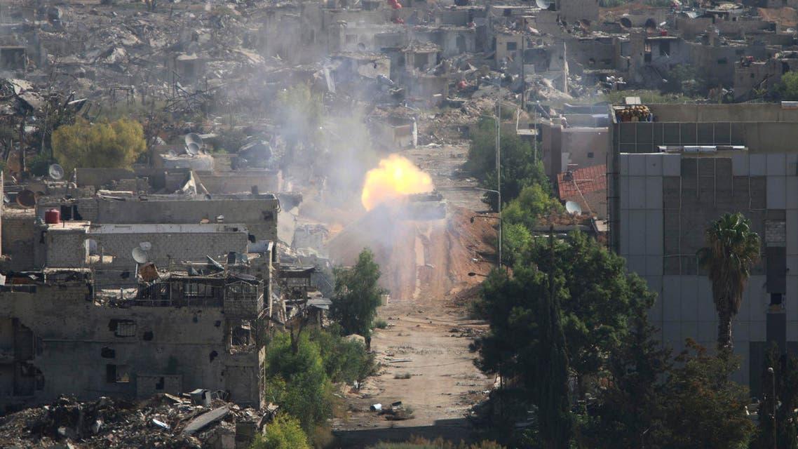 حي جوبر دمشق سوريا