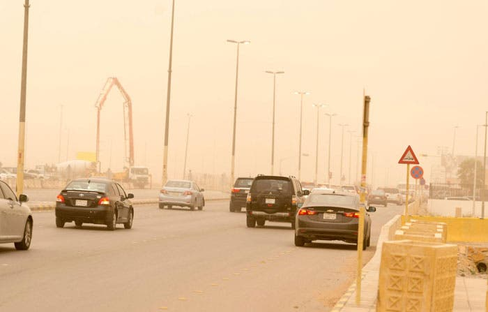 Public told to be alert as dusty, foggy weather blanket Kingdom cities. (Saudi Gazette)