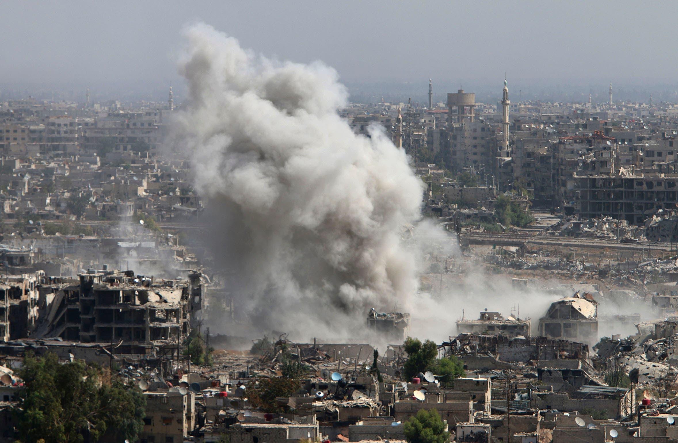 درگیریهای شرق دمشق