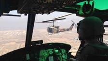 عراقی فوج کی شام میں داعش کے کمانڈروں پر بم باری