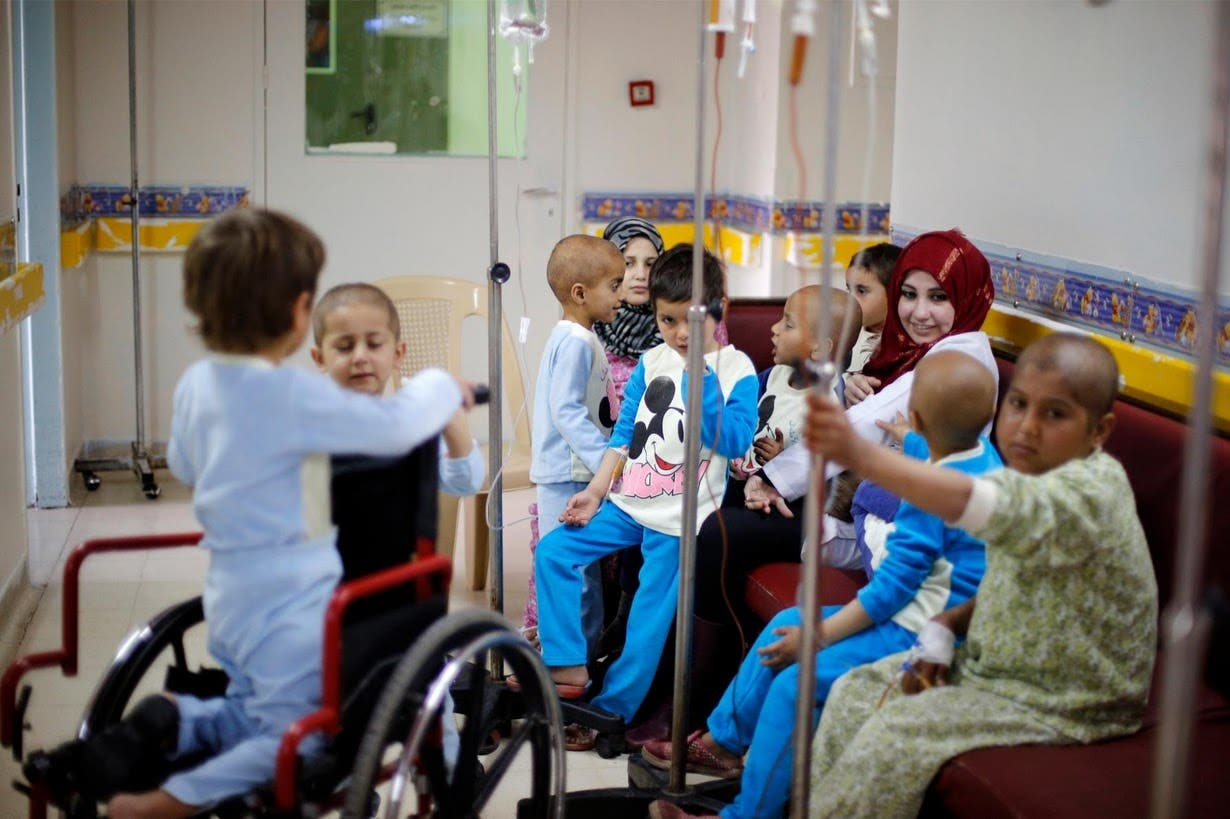 Syria sanctions indirectly hit child cancer treatment
