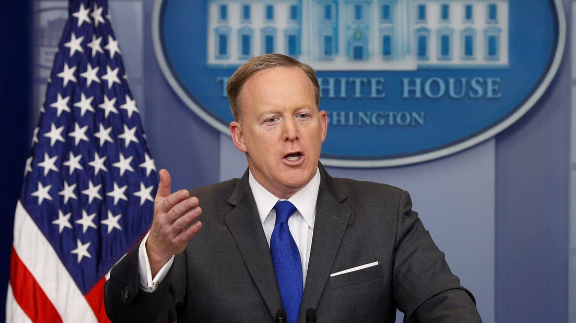 White House spokesman Sean Spicer holds a briefing at the White House in Washington, U.S., March 20, 2017