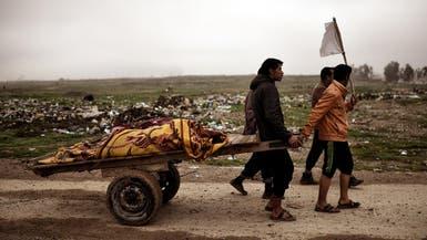 في الموصل.. الجثث تنزح مع الفارين