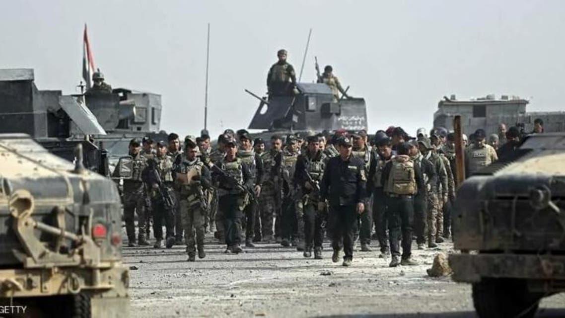 في الموصل الجيش العراقي العراق