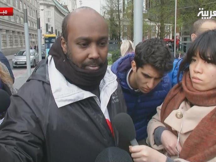 ماذا قال شاهد على هجوم البرلمان البريطاني؟