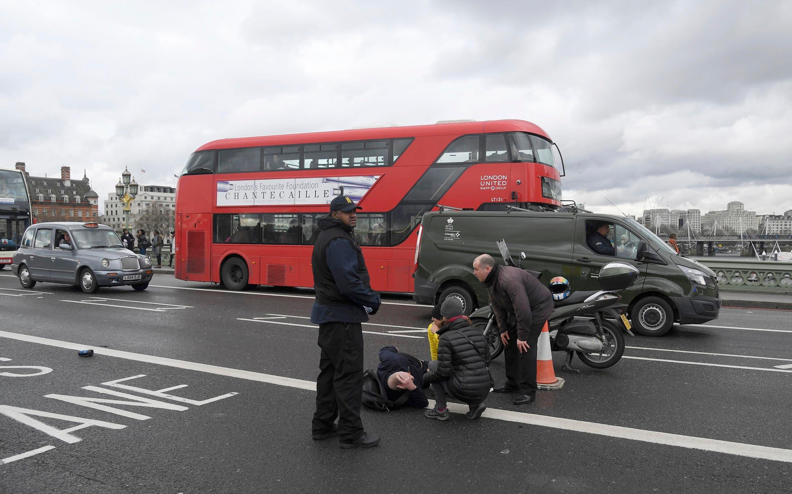 هجوم البرلمان البريطاني لندن ويستمنستر