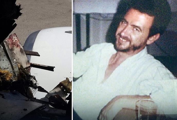 الطيار الذي تمكن ومساعده من إنقاذ الركاب والفجوة التي انطرد منها الانتحاري إلى الخارج