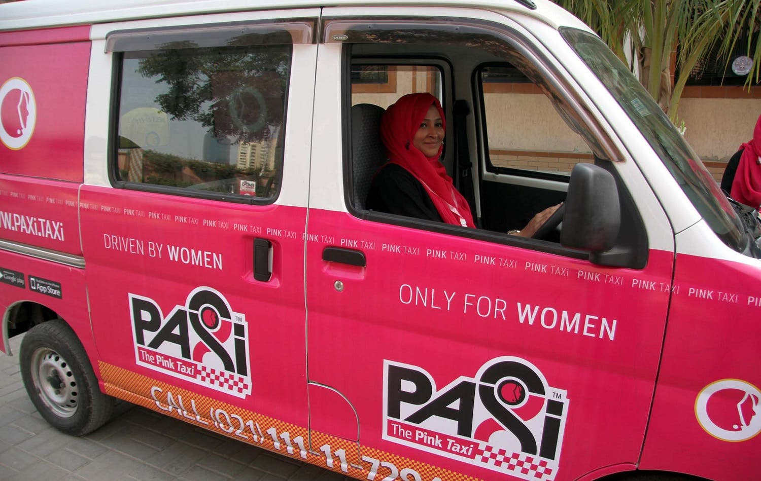 Sheikh said the Pink Taxi service would be extended to the cities of Lahore and Islamabad in the next three to four months, followed by other parts of the country. (Shutterstock)